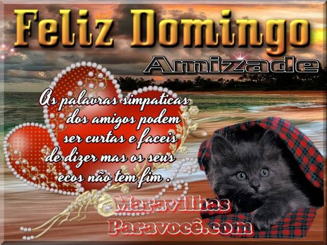 Feliz domingo ext / Dias